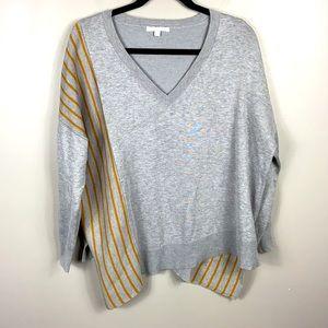 Linda Matthews Asymmetric Sweater size XL